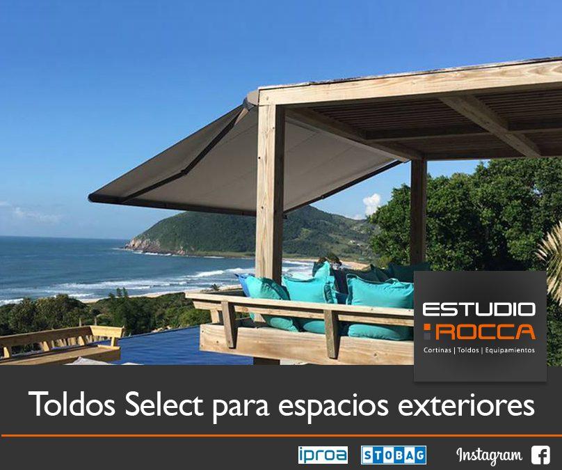 Toldos select para espacios exteriores estudio rocca - Toldos para exteriores ...